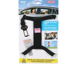 Per ottimizzare la sicurezza! 2 usi : trasporto & aria aperta. Questa imbragatura a 2 usi consente di legare il cane in un veicolo
