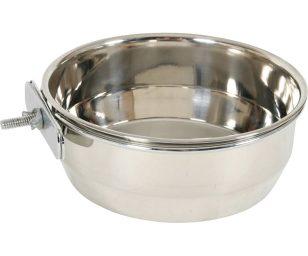 Una ciotola inox facile da agganciare e di facile lavaggio per un'igiene impeccabile!