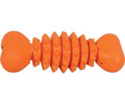 Un giocattolo adattato alla taglia del vostro cane e particolarmente resistente!