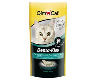 Gmpet Denta-Kiss contiene una combinazione di sostanze speciali per la pulizia dei denti. L'azione pulente viene esercitata mentre i gatti masticano il cibo con i denti superiori e inferiori.