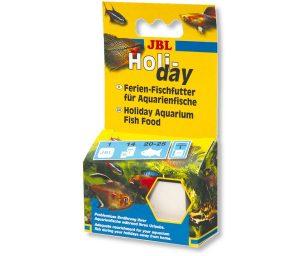 Nutrimento senza alcun problema dei pesci d'acquario per circa 15 giorni durante le tue vacanze