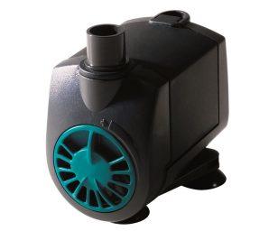Pompa sommergibile economica. Miniaturizzata. Silenziosa. Minima manutenzione. Motore autoprotetto da surriscaldamento. Minimo consumo energetico. Flusso regolabile.