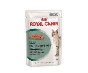 Alimento completo per gattiDai 7 anni di età (fettine in salsa).