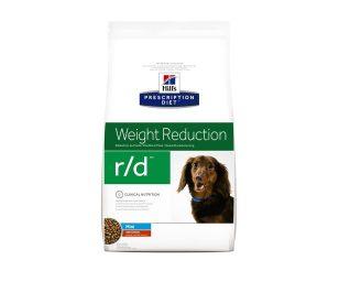 Prescription Diet™ Canine r/d™ è stato specificamente formulato per la gestione dei problemi di peso nel cane.