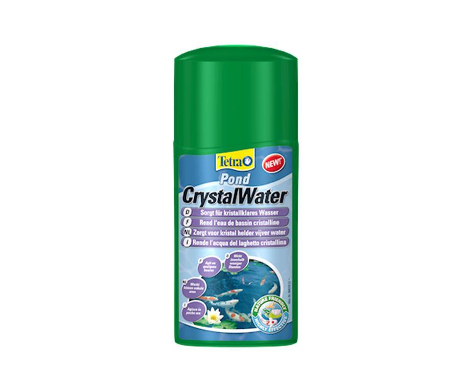 Tetra Pond CrystalWater - rimozione rapida e sicura delle particelle in sospensione che rendono torbida l'acqua del laghetto