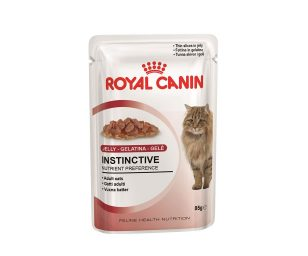 Alimento completo per gatti adulti. Fettine in gelatina.