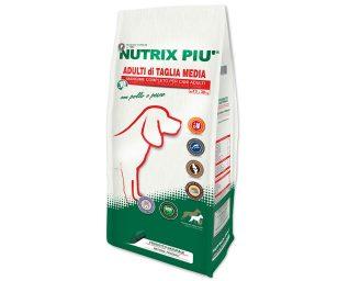 Mangime completo per cani adulti tra i 13 e i 30 Kg di peso.
