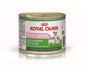 Alimento completo per femmine (gestazione ed allattamento) e cuccioli (dallo svezzamento fino a 2 mesi di età).