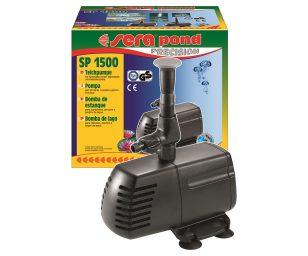Le nuove pompe per laghetto sera pond SP sono state concepite per piccoli sistemi e per giochi d'acqua.