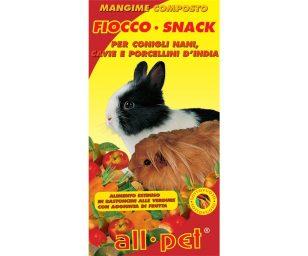 Mangime per animali d'affezione. Alimento composto per conigli nani