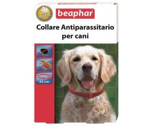 Collare antiparassitario al diazinone per il trattamento delle infestazioni da pulci (Ctenocephaldes felis) e zecche (Ixodes ricinus) nei cani.