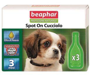 Lo Spot On Protezione Naturale Beaphar utilizza solo essenze ed oli vegetali davvero efficaci contro parassiti ed insetti ed al contempo delicati con il mantello e la cute dell'animale.