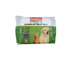 Le salviette Protezione Naturale Beaphar utilizzano solo essenze ed oli vegetali davvero efficaci contro parassiti ed insetti ed al contempo delicati con il mantello e la cute dell'animale.
