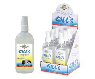 Erba gatta Gill's Catnip Spray stimola l'interesse del gatto verso la zona sulla quale è applicata. Presenta anche un effetto calmante per gatti.