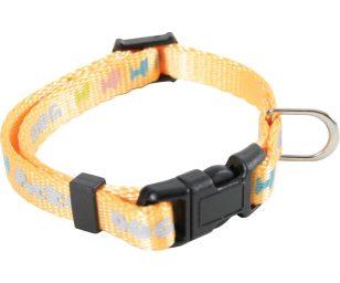 Un collare fantasia di nylon per un cagnolino alla moda! Il collare Pocket Dog é stato studiato specialmente per i cani di taglia piccola.