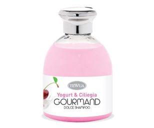 Dolce shampoo yogurt e ciliegia.