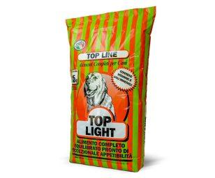 Alimento particolarmente indicato per cani a riposo o anziani.