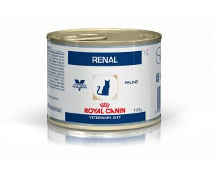 Renal è un alimento dietetico completo destinato ai gatti:- per il supporto della funzione renale in caso di malattia renale cronica o temporanea