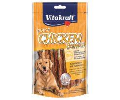 Chicken bonas® bastoncini da masticare con pollo senza cereali.