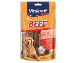 Beef di carne di manzo in vari formati per spezzare la fame fra un pasto e l'altro.