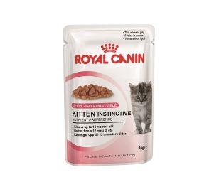 Alimento completo per gatti - Per la seconda fase della crescita dei gattini (da 4 a 12 mesi). Ideale anche per le gatte in gestazione. Fettine in gelatina.