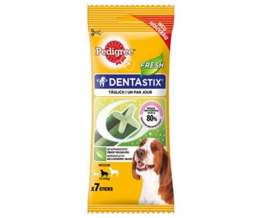 Dentastix fresh medium x7 promo 5+2.