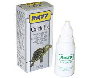 Mangime complementare liquido per tartarughe d'acqua e terrestri.