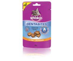 Whiskas® Dentabites® é specificatamente formulato per preservare l'igiene orale del tuo gatto.