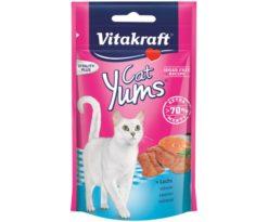 Cat yums