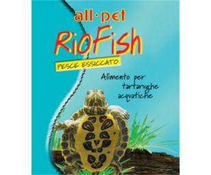 Mangime per animali d'affezione. Alimento semplice per tartarughe d'acqua.