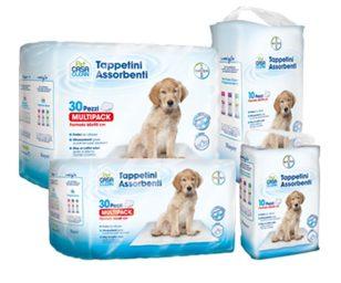 I tappetini bayer pet casa clean sono stati studiati per offrire una soluzione facile ed efficace a chi deve educare i cuccioli o abituare i propri cani a fare i bisogni solamente all'interno di spazi ben delineati.