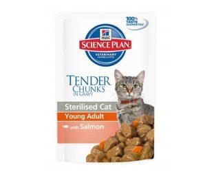 I gatti sterilizzati hanno il triplo delle possibilità di diventare sovrappeso e soffrire di problemi urinari. Hill's science plan young adult sterilised cat è studiato appositamente per soddisfare le esigenze di un gatto sterilizzato.