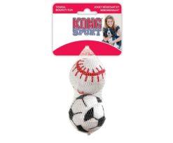 Le Kong Sport Balls sono migliori di una pallina da tennis. In materiale plastico molto spesso