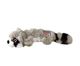 La prossima generazione di Knots è qui! Kong Scrunch Knots Racoon è un realistico giocattolo di peluche a cui i cani non potranno resistere.