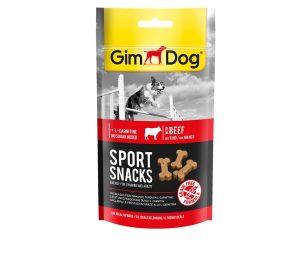 Gimdog sportsnacks manzo riducono la deposizione dei lipidi nei tessuti. Favoriscono il rendimento e la tenacia dei cani tenuti sportivamente.