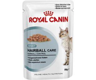 Alimento completo per gatti adulti (oltre 1 anno). Contribuisce alla naturale eliminazione dei boli di pelo (fettine in salsa).