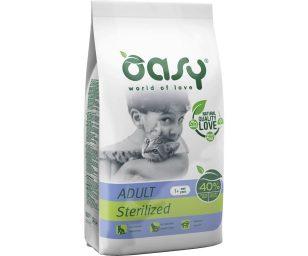 Alimento completo per gatti adulti castrati o sterilizzati
