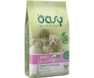 Alimento completo per cani adulti in sovrappeso o che svolgono attività fisica ridotta.