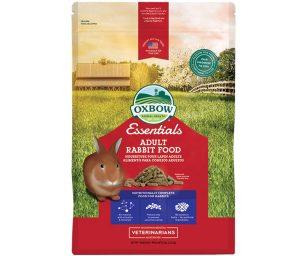 Essential Adult Rabbit Food è un alimento completo a base di fieno di fleolo (nome botanico: Phleum pratense)