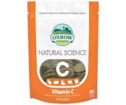 Vitamin C è un integratore ad alto contenuto di fibre per sostenere la salute generale del vostro animale domestico.