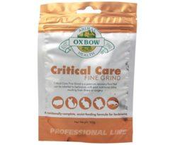 Il Critical Care Fine Grind è una formula ad elevato contenuto di fibre per promuovere una digestione ottimale