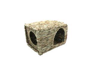 """La casetta """" grass hideaway"""" è ideale per piccoli animali che amano rifugiarsi per avere un luogo tranquillo dove rilassarsi"""