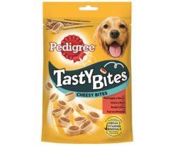 I cani amano essere ricompensati - Pedigree ® Tasty Bites sono una gamma di stuzzicanti e gustosi snack disponibili in diverse forme e varietà. Perfetti per bocche grandi e piccole