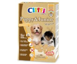 I biscottini cliffi puppy & junior vegetal