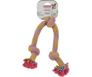 Giochi in corda per cani con nuove forme e nuovi materiali.