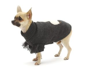 Caldo maglioncino per cani in 100 % lana di alpaca.