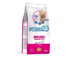 Forza10 mini adult maintenance al pesce è uno speciale alimento di mantenimento per cani adulti di taglia piccola