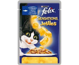 Sensations ® è una gamma di gustose ricette preparate con teneri pezzettini di carni avvolti in deliziose e succulente gelatine