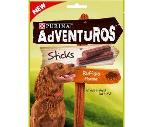 Purina adventuros è dedicato ai cani con un istinto naturale per l'avventura.