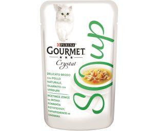 Da oggi la selezione gastronomica gourmet offre al tuo gatto una straordinaria esperienza di gusto: soup
